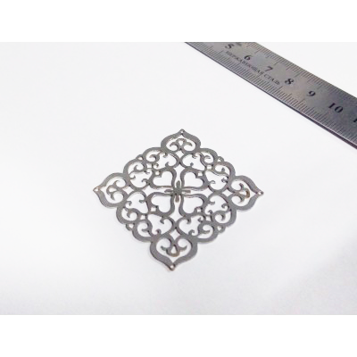 фигурная резка металла - образец