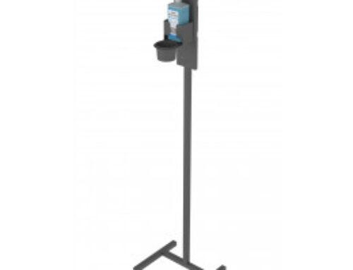 Disinfection stand for SDM-3 manual dispenser